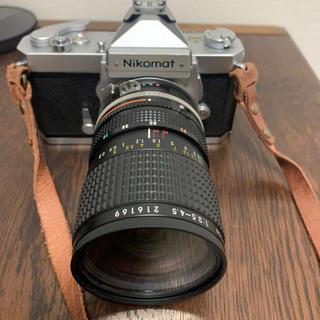 Nikon - 【初めてのフィルムに!】Nikomat&レンズ4本 おまけ付き!