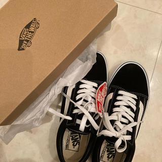 VANS - 【新品・未使用】Vans Old Skool 黒 23.5