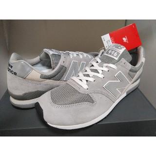 New Balance - ニューバランスcm996グレー靴スニーカー箱付きレザーbg灰574や997好きに