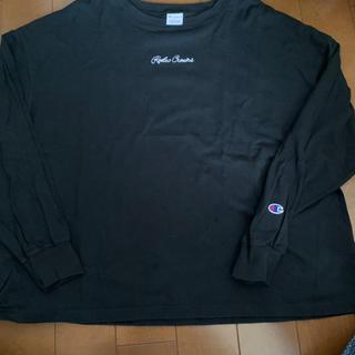 ロデオクラウンズワイドボウル(RODEO CROWNS WIDE BOWL)のロンT  チャンピオンコラボ(Tシャツ(長袖/七分))