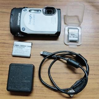 OLYMPUS - OLYMPUS オリンパス 防水デジカメ TG-850 WHITE