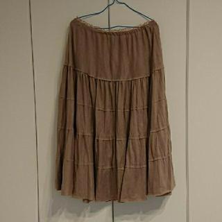 フランシュリッペ(franche lippee)のフランシュリッペ  ティアードスカート(ひざ丈スカート)