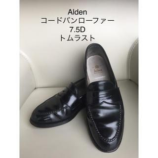 Alden - オールデン コードバンローファー 黒 7.5D  9636