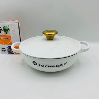 ルクルーゼ(LE CREUSET)のle creuset、鋳鉄、エナメル鍋、パリ鉄塔NO.2183(食器)