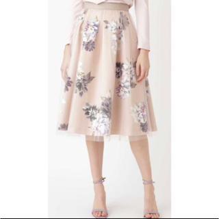 JILLSTUART - JILL STUART ヴェロニカ花柄プリントスカート サイズ2