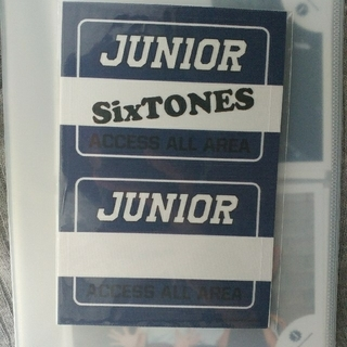 Johnny's - SixTONES ステッカー