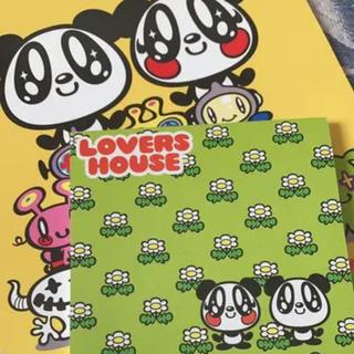 ラバーズハウス(LOVERS HOUSE)のLOVERSHOUSE メモ帳セット(ノート/メモ帳/ふせん)