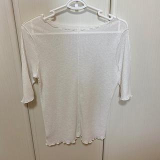 ダブルクローゼット(w closet)のwcloset シースルーTシャツ(Tシャツ(半袖/袖なし))