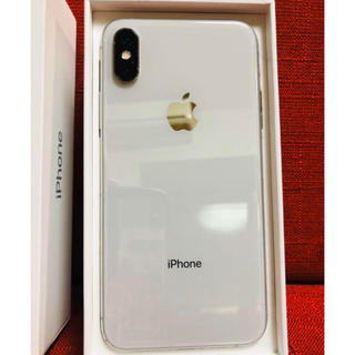 iPhone - iPhone Xs Silver 256 GB SIMフリー