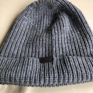 コーチ(COACH)のニット帽(ニット帽/ビーニー)