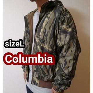 コロンビア(Columbia)のColumbia コロンビア 迷彩 リアルツリー マウンテンパーカー ジャケット(マウンテンパーカー)