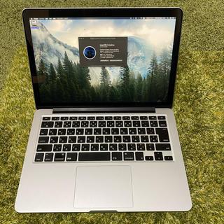 Mac (Apple) - MacBook Pro13インチ Late2013 Retina メモリ16GB