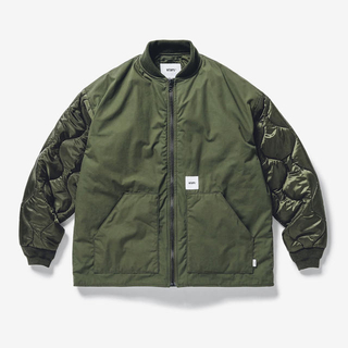 W)taps - wtaps SHEDS JACKET COTTON.WEATHER OLIVE