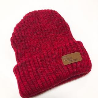 ビームス(BEAMS)の美品☆BEAMS ニット帽(ニット帽/ビーニー)