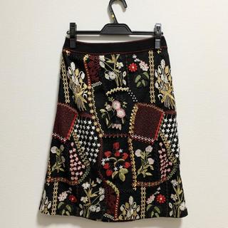 dholic - 花柄スカート 韓国 オルチャン