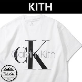 カルバンクライン(Calvin Klein)のキス コラボ Tシャツ KITH X Calvin Klein 白 S(Tシャツ/カットソー(半袖/袖なし))