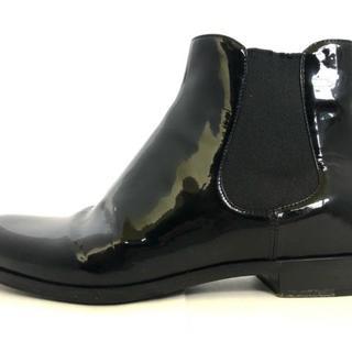 プラダ(PRADA)のプラダ ショートブーツ 35 レディース 黒(ブーツ)