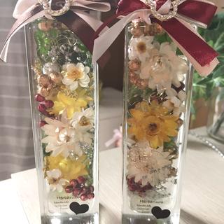 お花いっぱいのクリスマス ハーバリウム(プリザーブドフラワー)