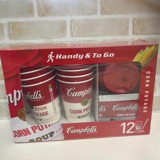 コストコ(コストコ)のCampbells キャンベル コーンスープ 12食 コップ マドラー(インスタント食品)