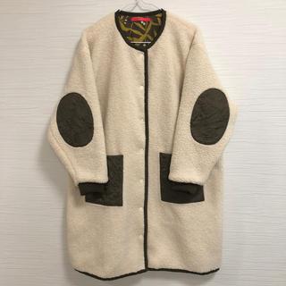 Design Tshirts Store graniph - graniph ボアキルティングコート