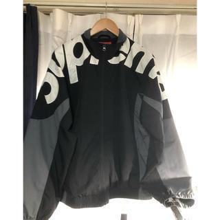 Supreme - supreme shoulder logo  track jacket L