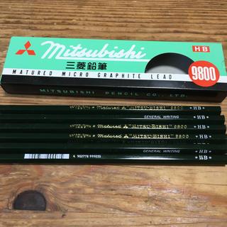 ミツビシエンピツ(三菱鉛筆)のMITSUBISHI 鉛筆 HB 赤鉛筆(鉛筆)