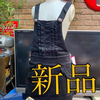 ピンクラテ(PINK-latte)の新品ピンクラテサロペットスカート定価3990円サイズM(ミニスカート)