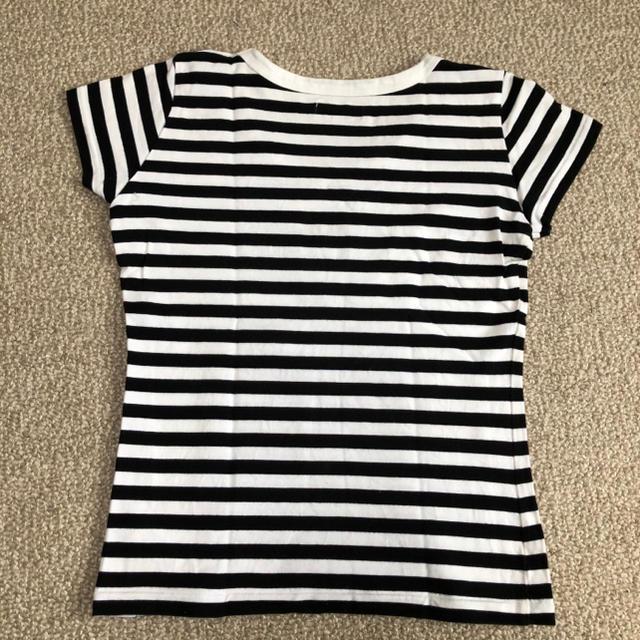 agnes b.(アニエスベー)の【美品】agnès b. /アニエス・ベー J008 TS ボーダーTシャツ レディースのトップス(Tシャツ(半袖/袖なし))の商品写真