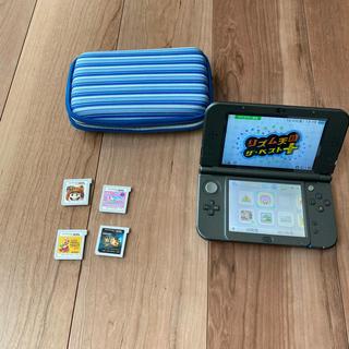 ニンテンドウ(任天堂)の任天堂 3dsll ブラック DS(家庭用ゲーム機本体)
