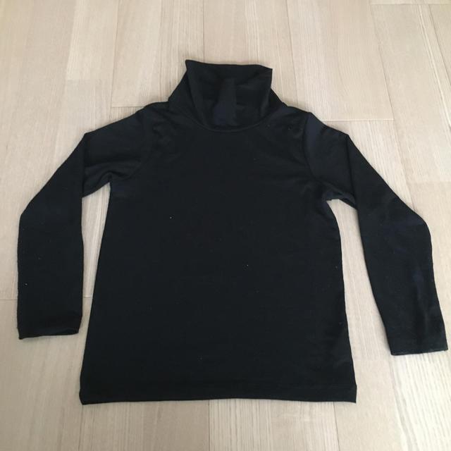 GU(ジーユー)のGU WARM タートル 120 キッズ/ベビー/マタニティのキッズ服女の子用(90cm~)(Tシャツ/カットソー)の商品写真