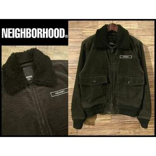 NEIGHBORHOOD - ネイバーフッド G-1 / CD-JKT 襟ボア コーデュロイ ブルゾン S