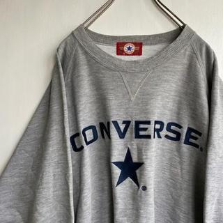 コンバース(CONVERSE)の〔刺繍〕90's CONVERSE 刺繍ロゴ ビッグサイズ トレーナー 3L(スウェット)