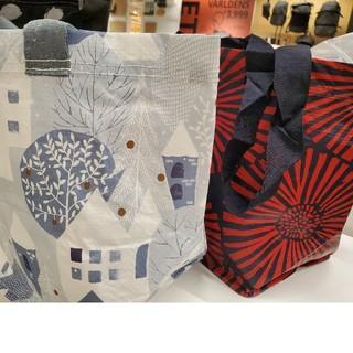 IKEA - 秋の最新イケアSサイズ2枚+【IKEA】インルップ+プリルタ  買い物エコバッグ