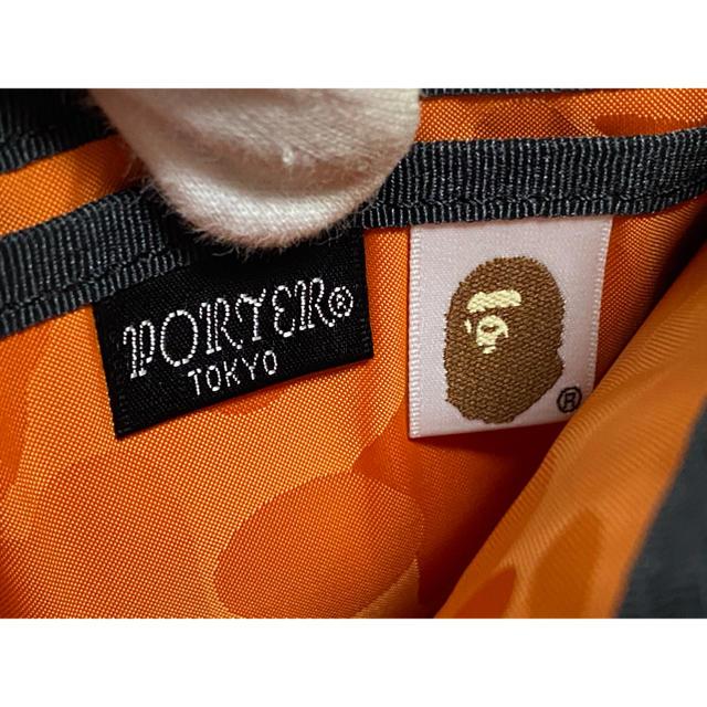 PORTER(ポーター)のPORTER/別注/エイプ/限定/BAPE/コラボ/財布/迷彩/カモ/吉田カバン メンズのファッション小物(折り財布)の商品写真