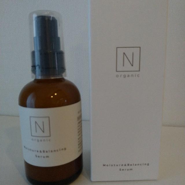 N organic エヌオーガニック モイスチュア&バランシングセラム 60ml コスメ/美容のスキンケア/基礎化粧品(乳液/ミルク)の商品写真