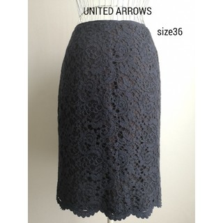 UNITED ARROWS - 美品 UNITED ARROWS エレガントスカート