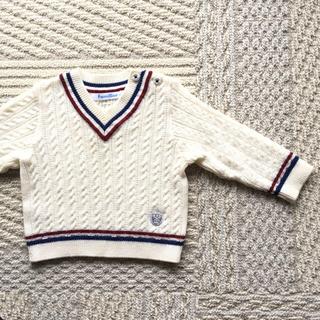 ファミリア(familiar)のファミリア☆ウール混セーター70(ニット/セーター)