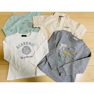 コムサイズム(COMME CA ISM)の半袖JK&トレーナー&カットソー 全4枚 110cm(Tシャツ/カットソー)