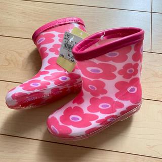 長靴  女の子  レインブーツ  16cm   新品未使用