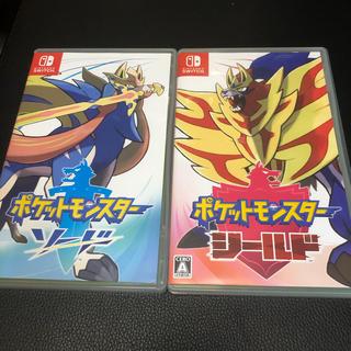Nintendo Switch - 【ポケモン】 Switch ポケットモンスター ソード シールド