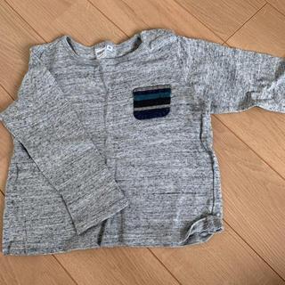 シップスキッズ(SHIPS KIDS)の美品 シップス 90 Tシャツ(Tシャツ/カットソー)