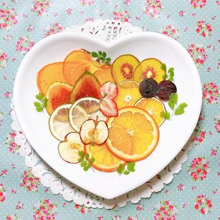 押しフルーツ🍁旬のフルーツ詰め合わせ🍁(ドライフラワー)