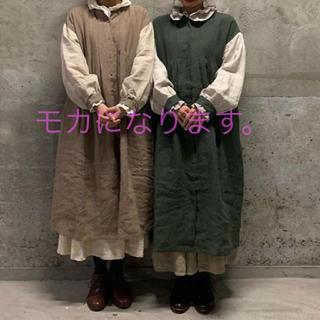 SM2 - 新品*サマンサモスモス 立川限定*袖配色タックワンピース