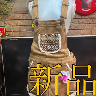 ピンクラテ(PINK-latte)の新品ピンクラテ サロペットスカート定価3675サイズM(ミニスカート)