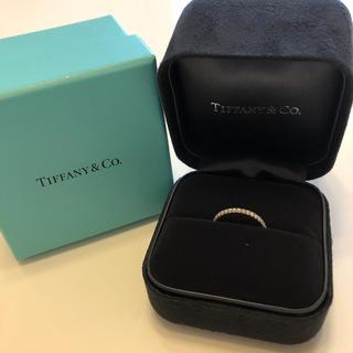 ティファニー(Tiffany & Co.)のティファーニーハーフエタニティ7.5〜8号(リング(指輪))