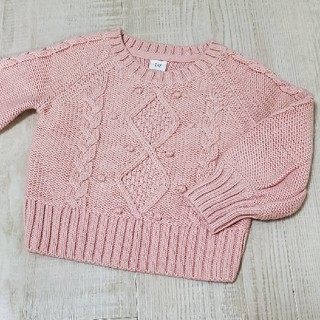 ベビーギャップ(babyGAP)のbabyGAP セーター 90㎝ ピンク ニット トップス(ニット)