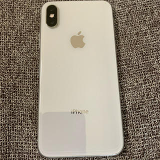 Apple - 美品! iPhone Xs Silver 64 GB SIMフリー