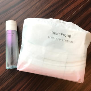 ベネフィーク(BENEFIQUE)のベネフィーク 拭き取り化粧水 専用コットン(化粧水/ローション)