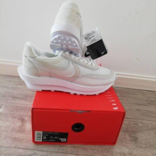 24.5cm Sacai × Nike LD Waffle BV0073-101(スニーカー)