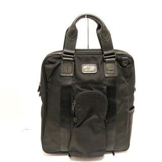 トゥミ(TUMI)のトゥミ ハンドバッグ美品  - 22320DH 黒(ハンドバッグ)